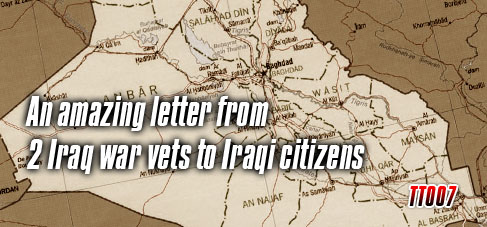 An amazing letter from 2 Iraq war vets to Iraqi citizens